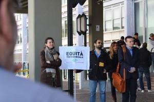 Manifestazione INPS Roma