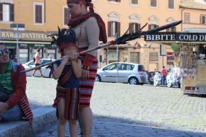 manifestazione cittadinanza Roma