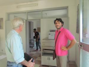 Giorgio Abate e Tano Malannino