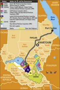 South Sudan Map Oil